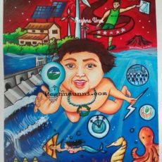 Wind, Water, Sun: Energy for Long Run | BEE Energy Conservation Painting Competition 2018