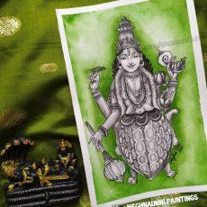 Kurma Avatara Painting   Dasavataram Series : 2