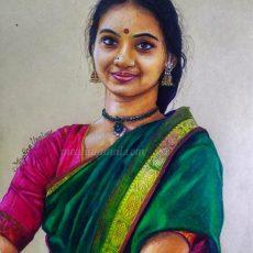 Harinie Jeevitha Akka Painting | SDN KoolKidz Series : 9