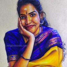 Kameshweri Ganesan Akka Painting | KoolKidz Series : 7
