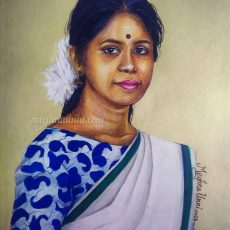 Smt Shobha Korambil Painting Color Pencils | Kool Kidz Series : 8