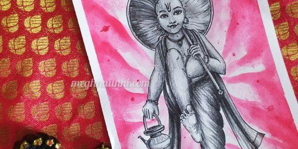 Vamana Avatar Painting | Dasavataram Series : 5