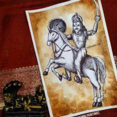Kalki Avatar Painting | Dasavataram Series: 10