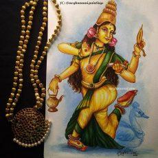Navaratri Series Day 2: Mathrika Devi 'Brahmāni' Painting