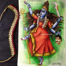 Navaratri Series Day 9: Matrika Devi Chamundi / Sivadhuti Painting