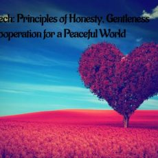 A Speech for School Children on the Principles of Honesty, Gentleness & Cooperation to Counter Growing Violence